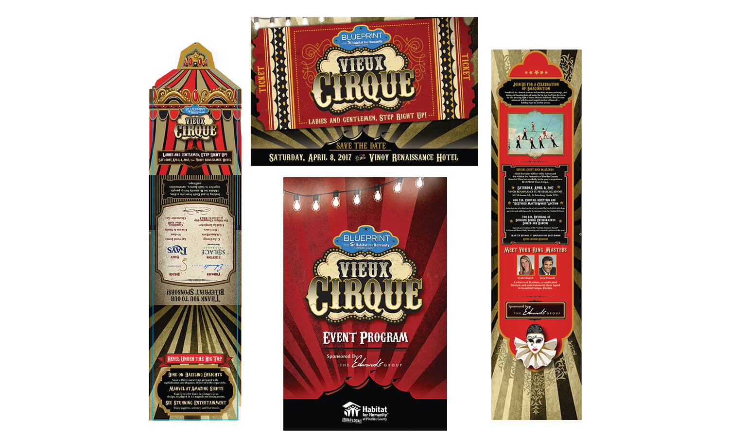 Habitat for Humanity of Pinellas County - Cirque Gala