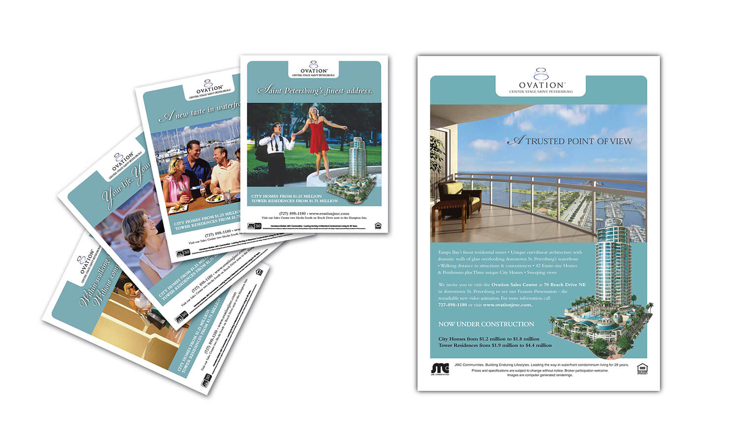 Ovation Tower Campaign collateral 1