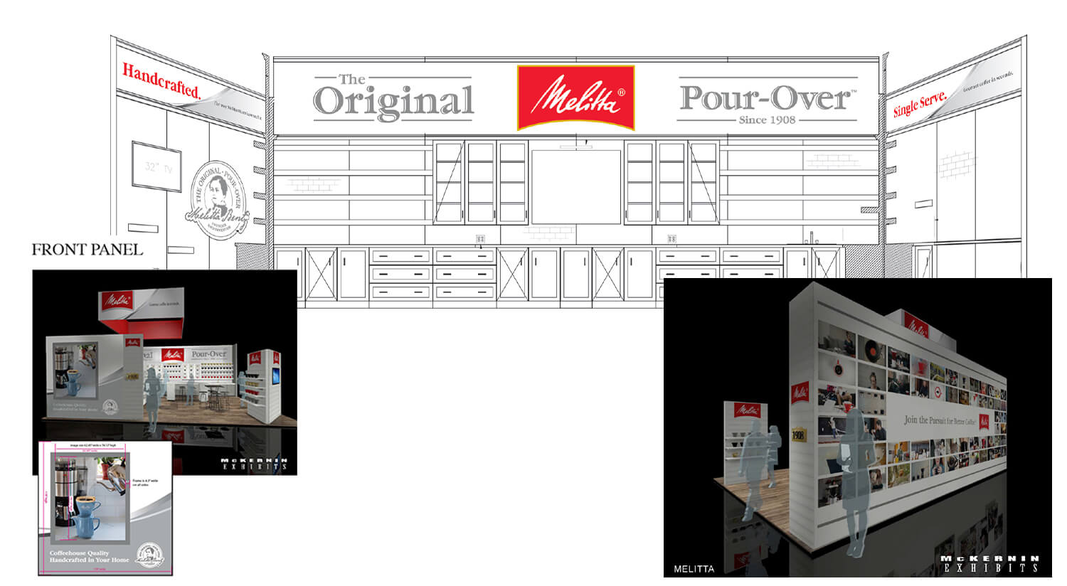 Melitta Pour-Over Trade Show Booth