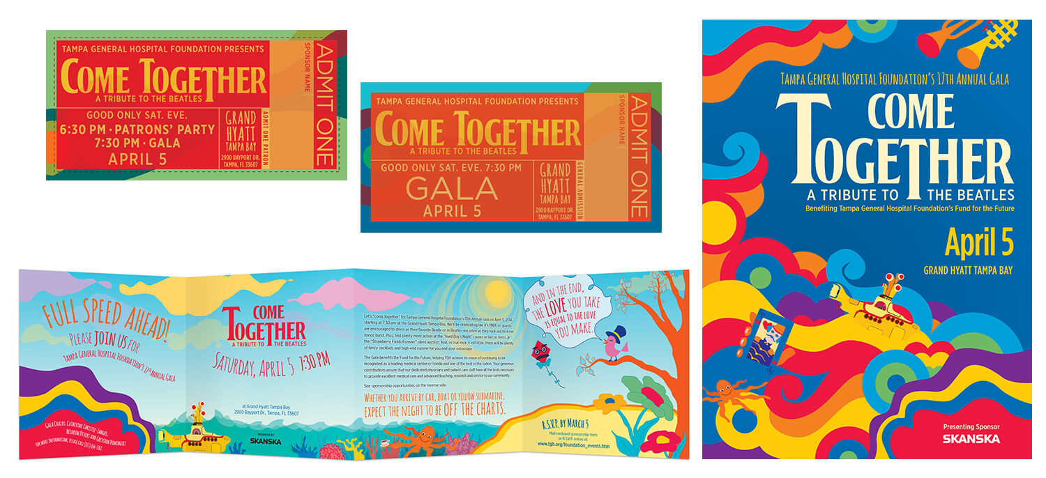 TGH Gala Branding and Collateral