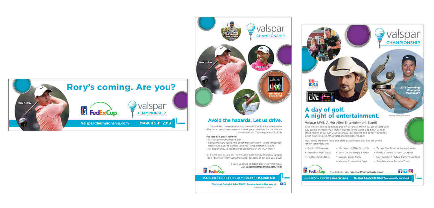 Valspar Championship Branding and Collateral