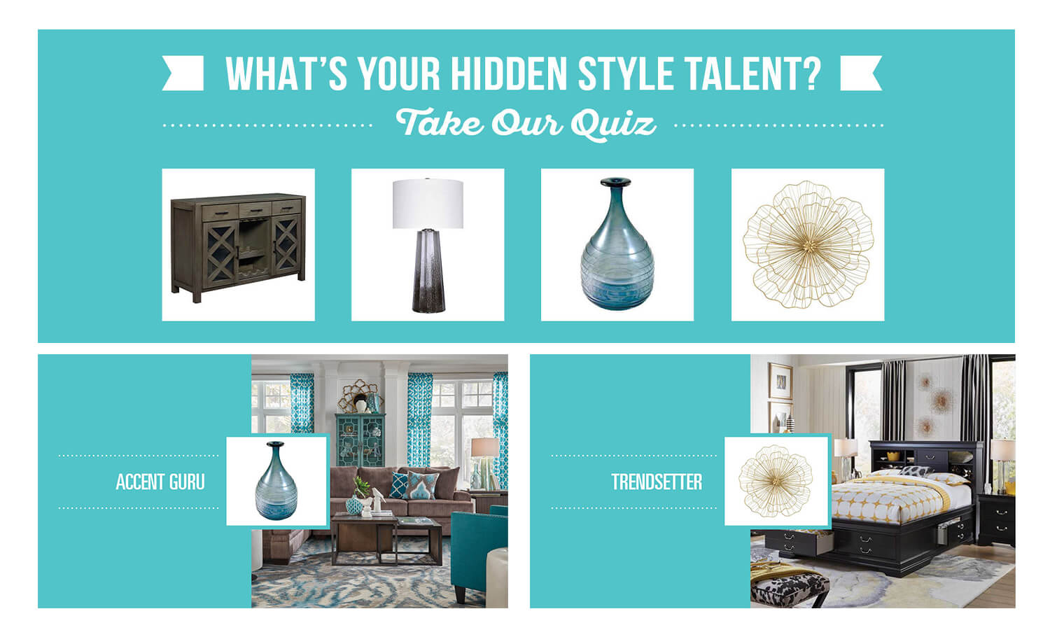 Badcock Home Furniture &more Style Quiz