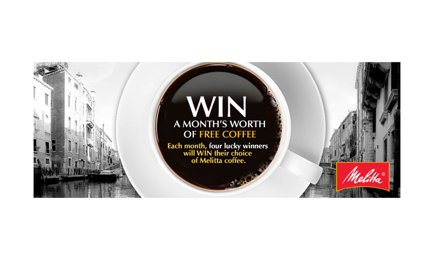 Melitta's Month Worth of Coffee Promotion 1